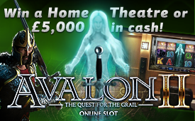Win a Home Theatre or £5000 in cash!